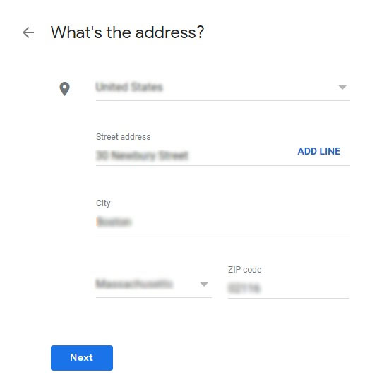 add street address to google maps